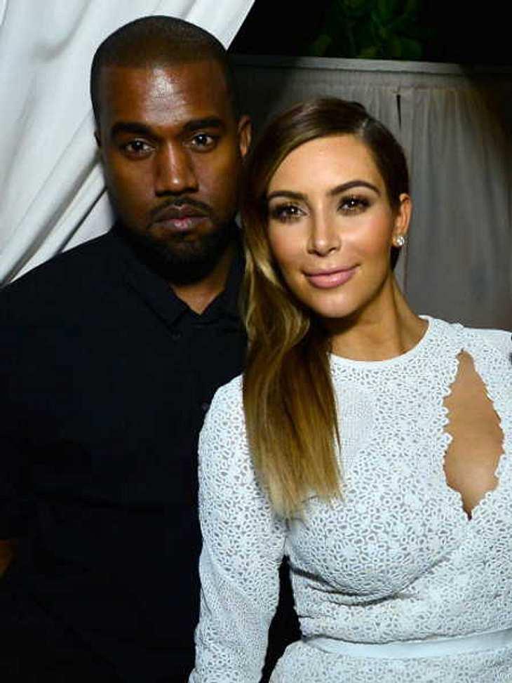 Kim Kardashian und Kanye West dürfen sich über einen Instagram-Weltrekord freuen