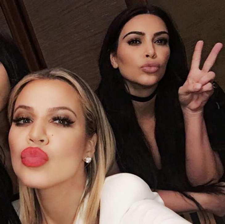 Khloé Kardashian Kim Kardashian Überfall