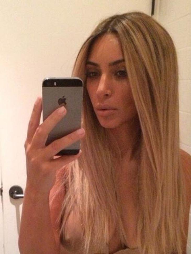 Kim Kardashian möchte ein Selfie-Buch veröffentlichen