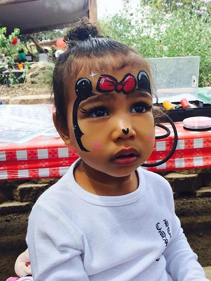 North West als Minnie Mouse