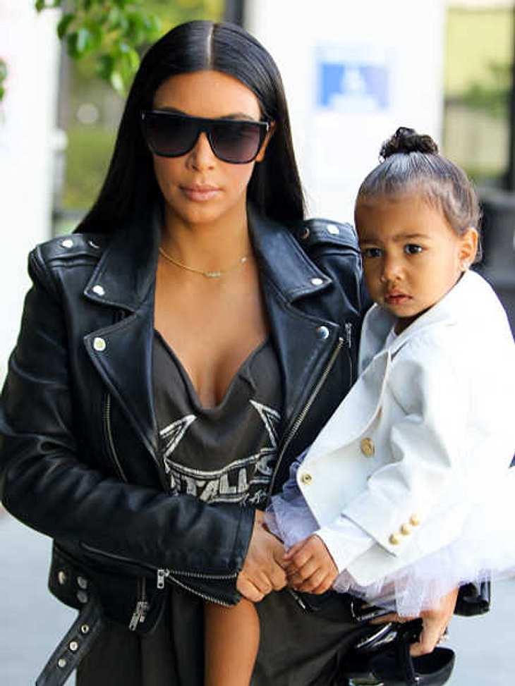 Kim Kardashian: Eigener Fitnesstrainer für North West (2)