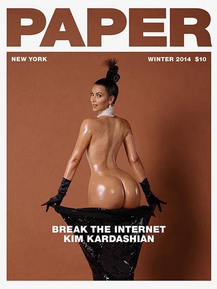 Zu schmale Hüften und ein zu riesiger Po. So sieht Kim nicht wirklich aus