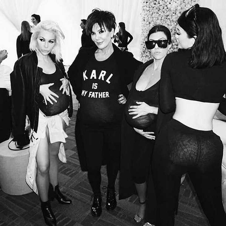Kim Kardashian Babybauch Geburtstag
