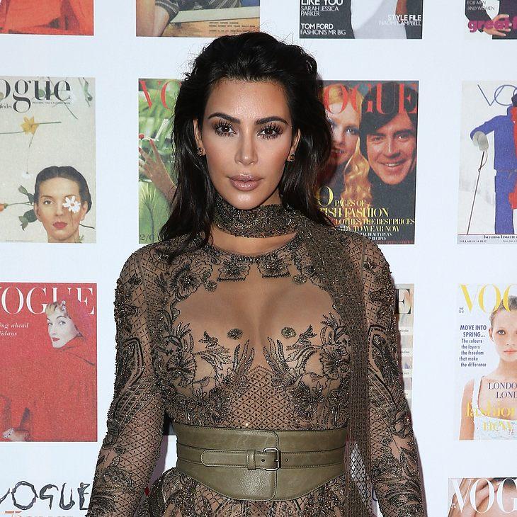 Kim Kardashian wurde vom Iran zur Staatsfeindin erklärt
