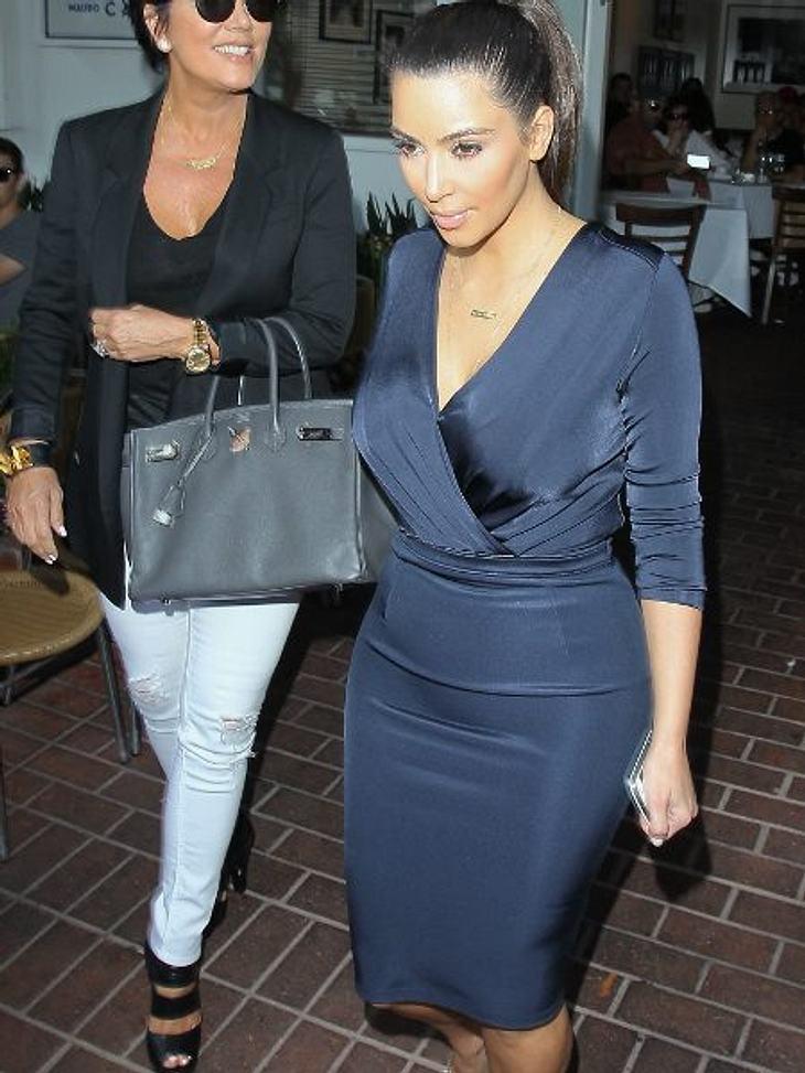 """Stars: Vorher-Nachher""""Frauen müssen Kurven haben"""", findet Kim Kardashian. Doch wehe, bei ihr sind es zu viele! Die neun Kilo, die sie sich in den letzten Wochen wegen des ganzen Wirbels um ihre Beziehung zu Rapper Kanye West (33)"""