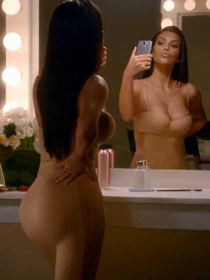 Kim Kardashian: Selfie-Werbung beim Super Bowl!