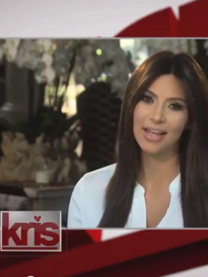 Kim Kardashian zeigt sich im TV
