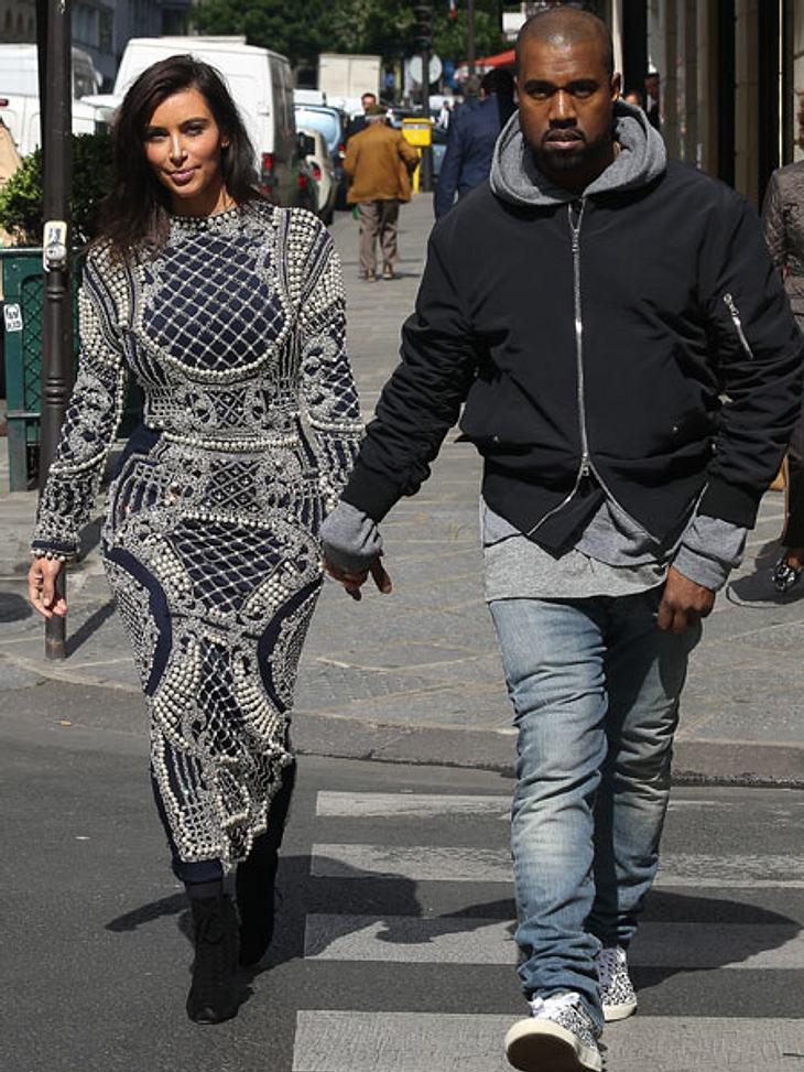 Kim Kardashian und Kanye West sollen einen eigenen Paparazzo engagiert haben