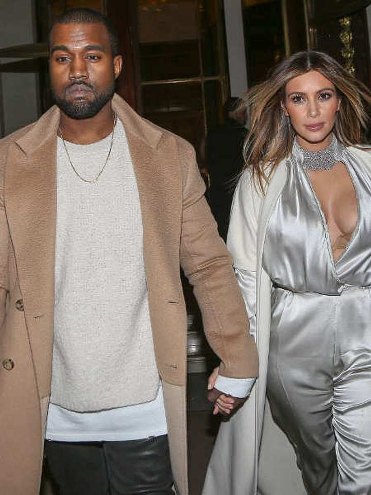 Kanye setzt sich für Kim ein