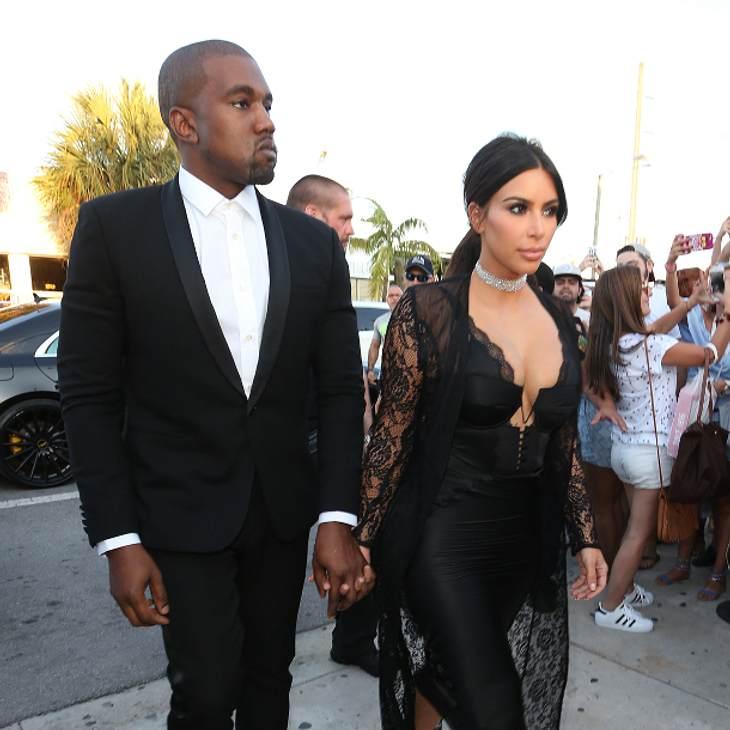Kim Kardashian ist überglücklich Kanye West wieder bei sich zu haben