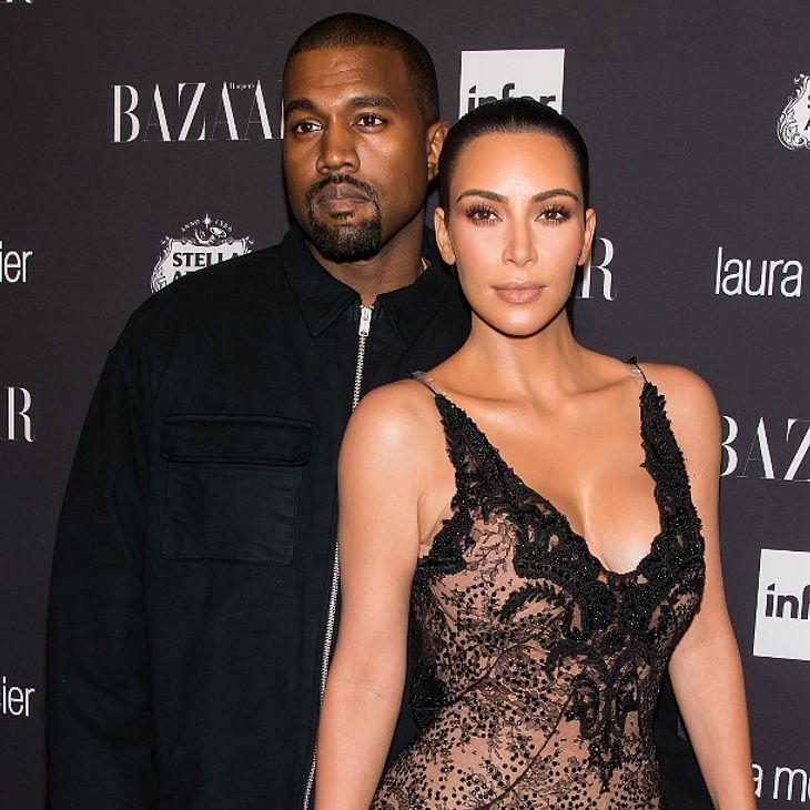 Kim Kardashian und Kanye West beauftragen vielleicht eine Leihmutter
