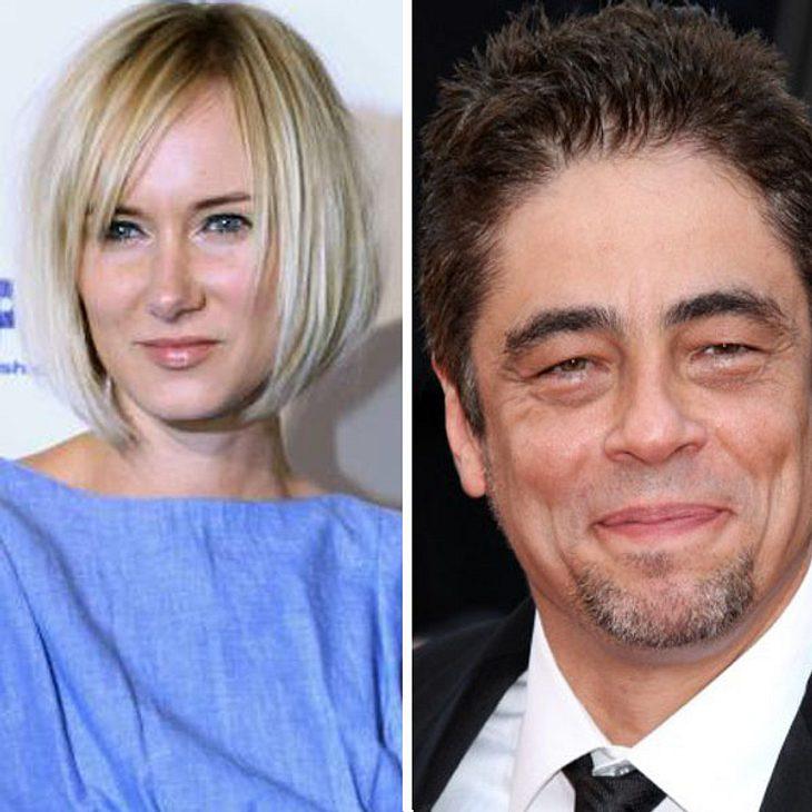 Kimberly Stewart und Benicio del Toro haben ihr Baby!