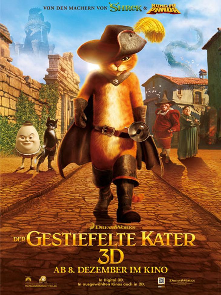 """Unser Kino-Tipp: """"Der gestiefelte Kater"""" ab dem 08.12.2011 im Kino"""