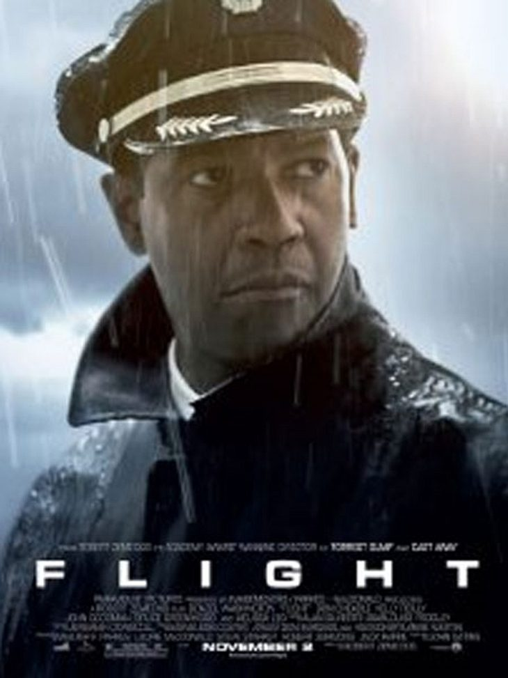 Die Oscar-Filme 2013Flugkapitän Whitaker  (Denzel Washinton) ist ein drogensüchtiger Alkoholiker. Seinen schlimmen Kater bekämpft er mit Koks und fliegt trotzdem. Nur gebrochene Muttern im Höhenleitwerk machen das Flugzeug plötzlich manövri