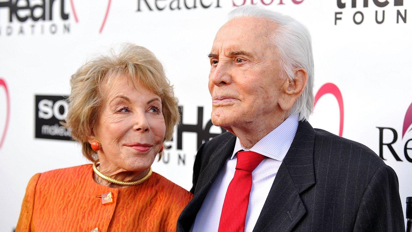 Kirk Douglas und Anne