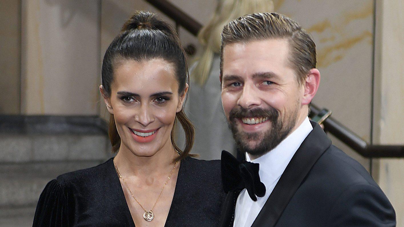 Klaas Heufer-Umlauf mit Frau Doris Golpashin 2019