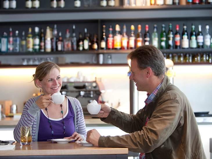 """Das Preis-Leistungs-Verhältnis ist in Ordnung: Pro Mittagstisch zahlen wir im """"Slowman"""" 8,90 €."""