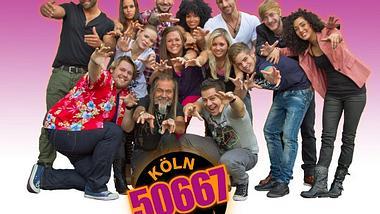 """Köln 50667 - die neue TV-CliqueEs geht los mit """"Köln 50667"""". Ab Montag 18 Uhr gibt es werktags jede Menge Action von der neuen Clique. Vor dem Quotenhit  """"Berlin: Tag & Nacht"""" zeigt RTL II seinen neusten Clou.Wir hab - Foto: RTLII"""