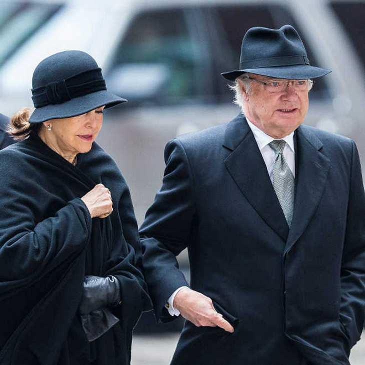 Königin Silvia von Schweden in Trauer: Ihr Freund hat sich das Leben genommen!
