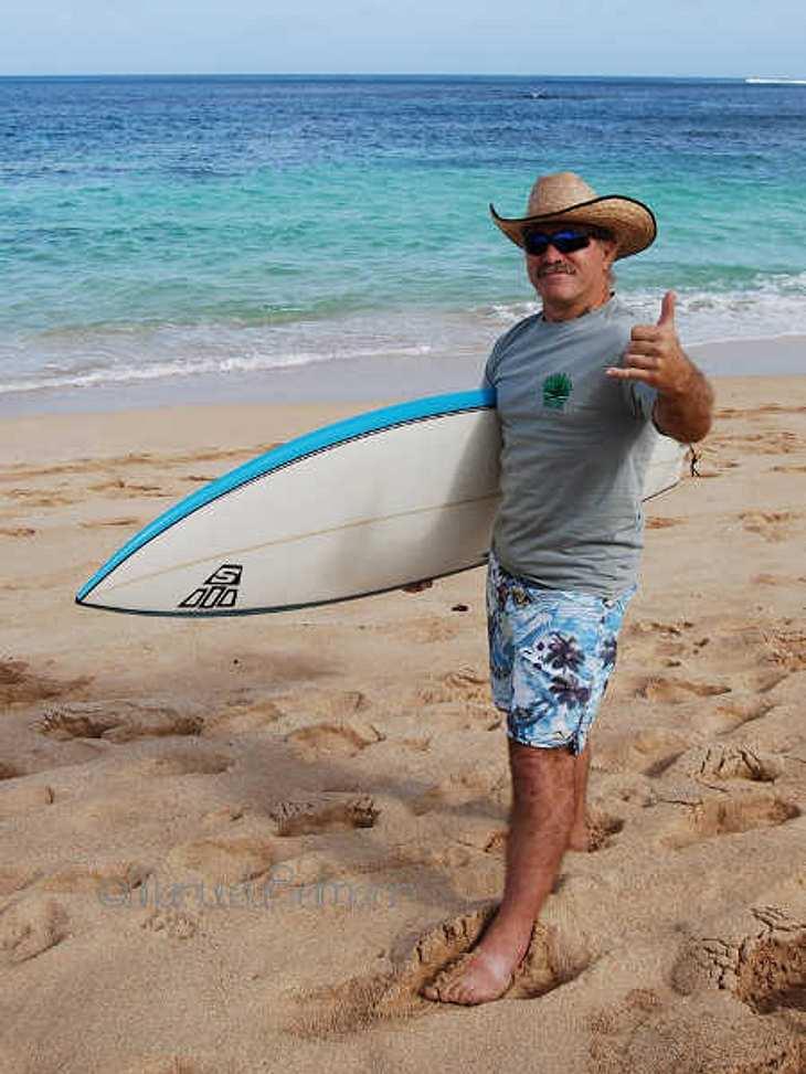Konny Reimann wird auf Hawaii die Seele baumeln lassen.