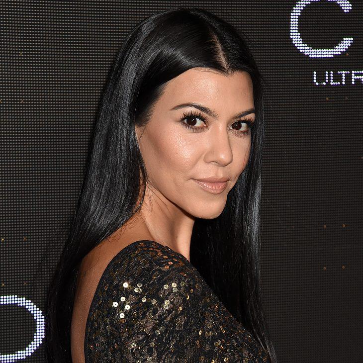 Kourtney Kardashian ist wieder glücklich