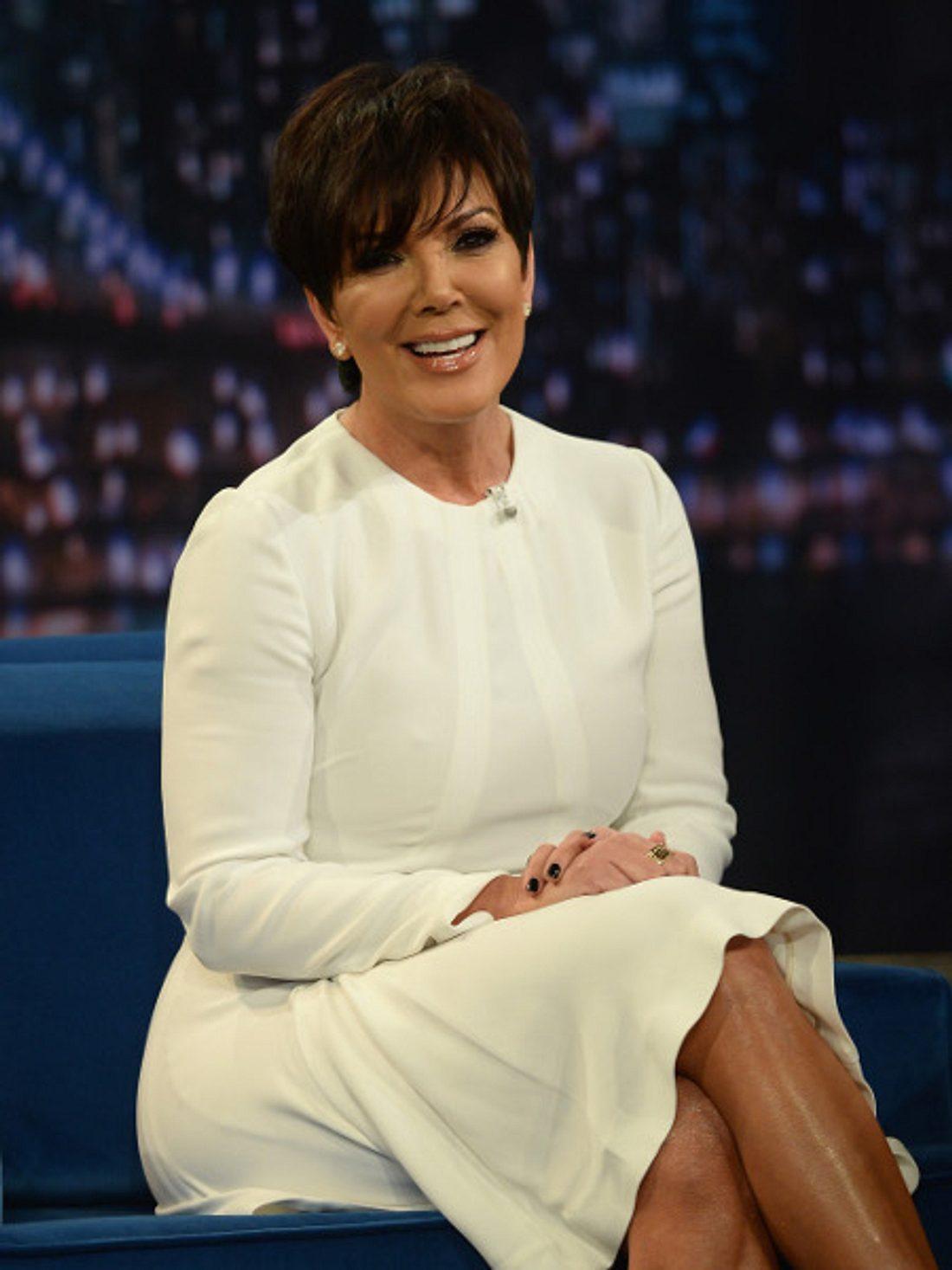 Kris Jenner gibt am Set die Diva.