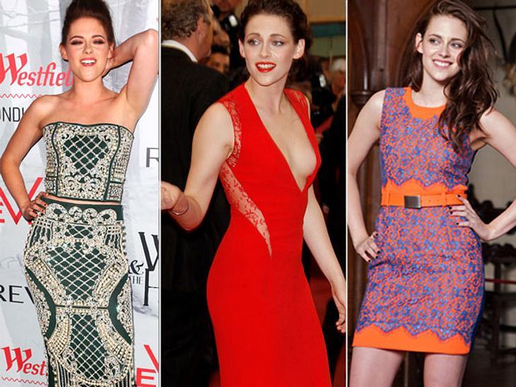 """Das neue Image der Kristen StewartWas ist nur mit Kristen Stewart (22) los? Die sonst so muffelige Schauspielerin scheint sich quasi über Nacht in eine wahre Frohnatur verwandelt zu haben. Die neusten Bilder des """"Twilight""""-Stars s"""