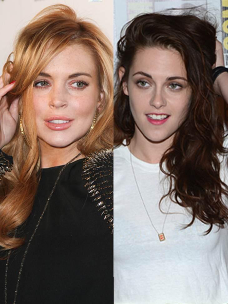 Lindsay Lohan disst Kristen Stewart.