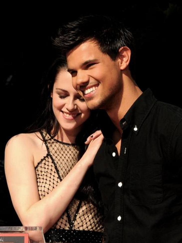 Das neue Image der Kristen StewartUnd schon wieder ist sie auf Kuschelkurs mit einem männlichen Kollegen: Auch Taylor Lautner (20) erlebte Kristen Stewart anschmiegsam statt kratzbürstig.