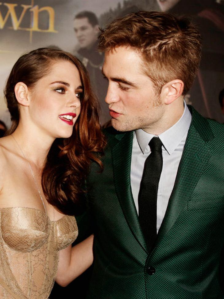 Robert Pattinson & Kristen Stewart: Wann gehen sie mit ihrer Liebe an die Öffentlichkeit?