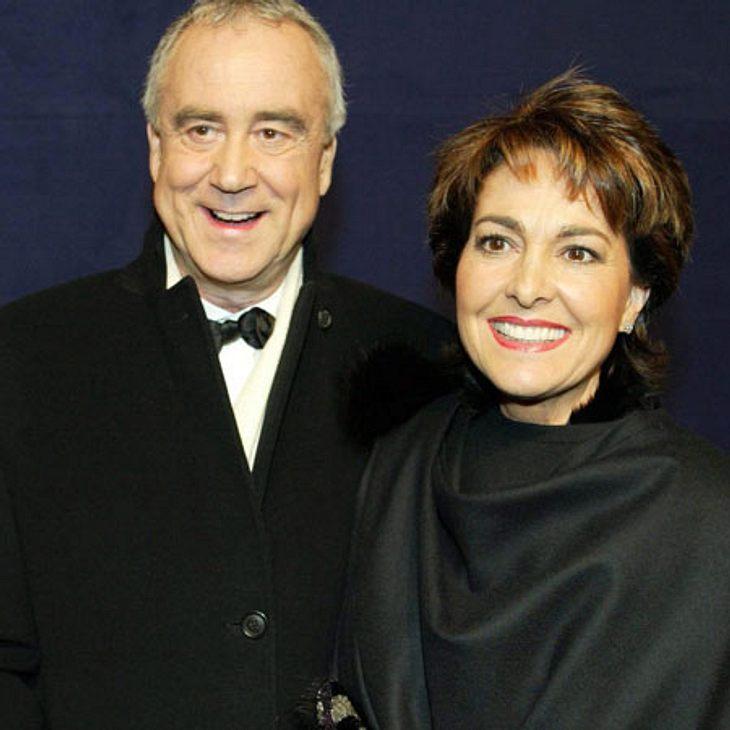 Sie waren glücklich zusammen: Kurt Felix mit seiner Frau Paola.