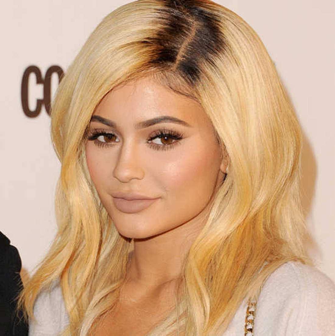 Kylie Jenner Haare blond