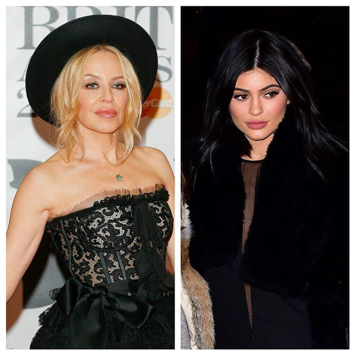 Kylie Jenner und Kylie Minogue streiten sich um den Namen Kylie