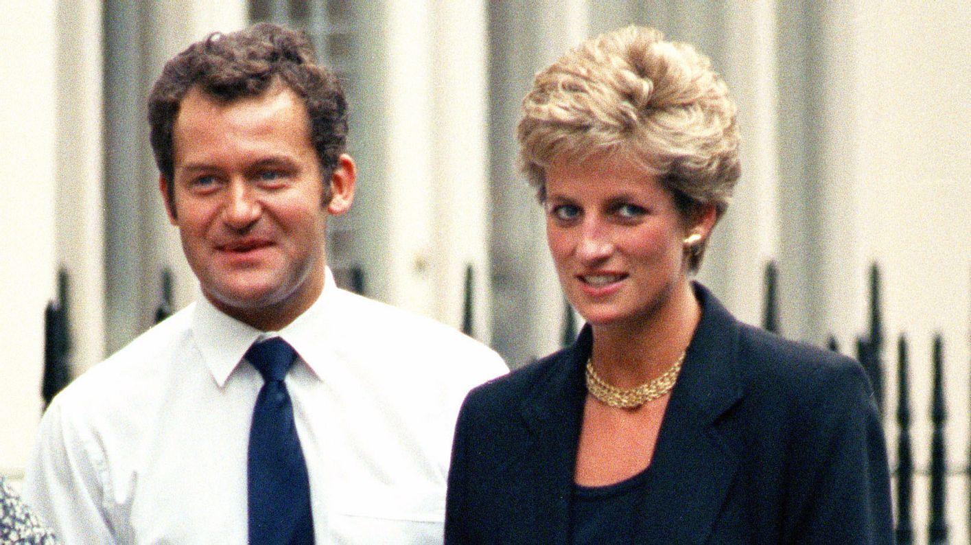 Lady Diana und ihr Butler Paul Burrell