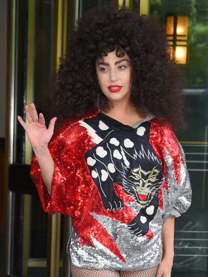 Lady Gaga im Afro