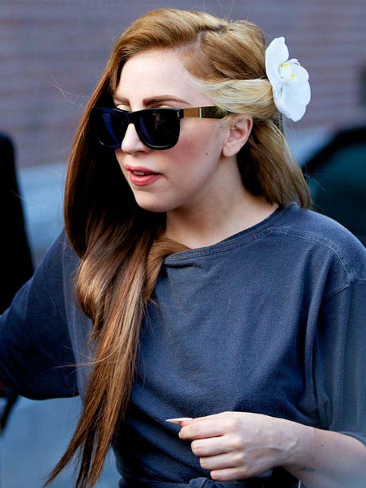 Lady Gaga musste sich während eines Konzertes übergeben.