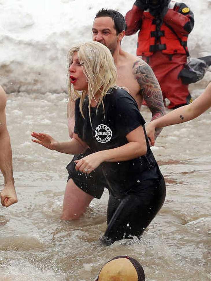 Lady Gaga fürchtet sich nicht vor Kälte.