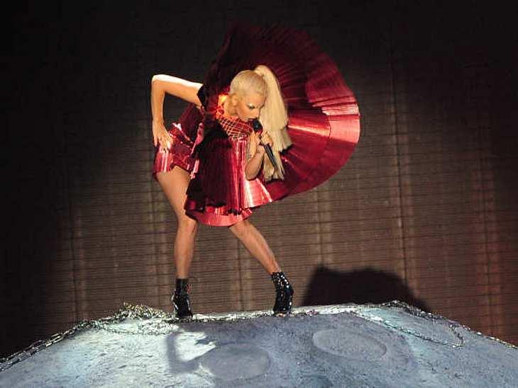EMAs 2011...außerdem perfomte Lady Gaga natürlich.