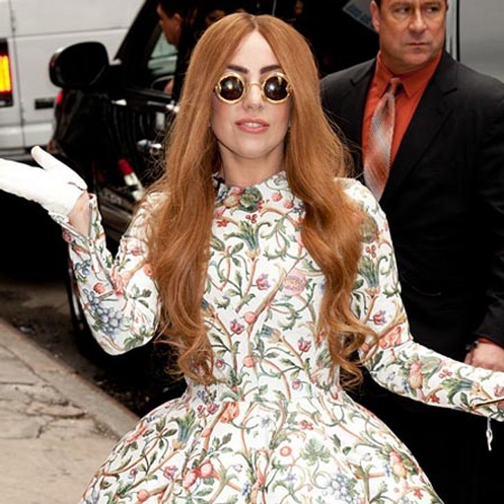 Lady Gaga will auf einer durchsichtigen Bühne auftreten
