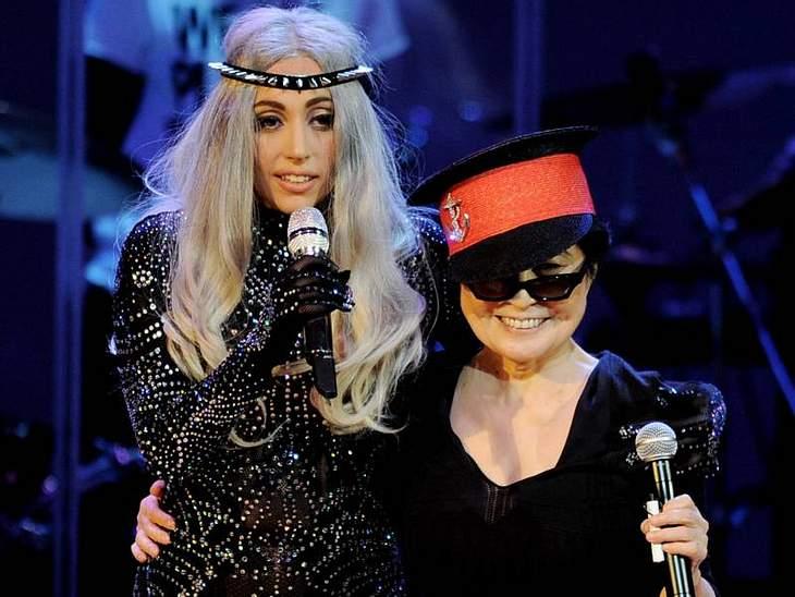 Doppelt durchgeknallt: Lady Gaga und Yoko Ono