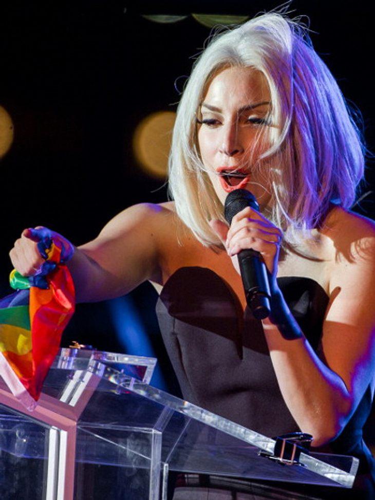 Lady Gaga feierte ihr Comeback auf der Bühne