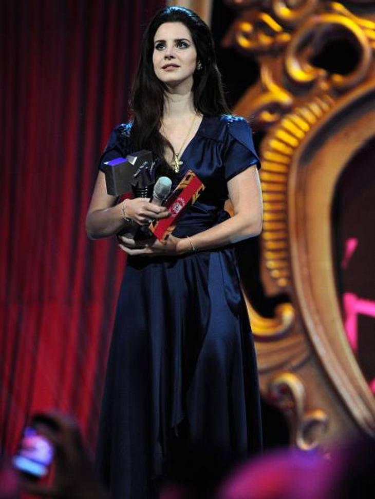 """MTV Europe Music Awards 2012 - Die HighlightsDer Preis für den besten """"Best Alternative Artist"""" ging an US-Sängerin Lana Del Rey (26)."""