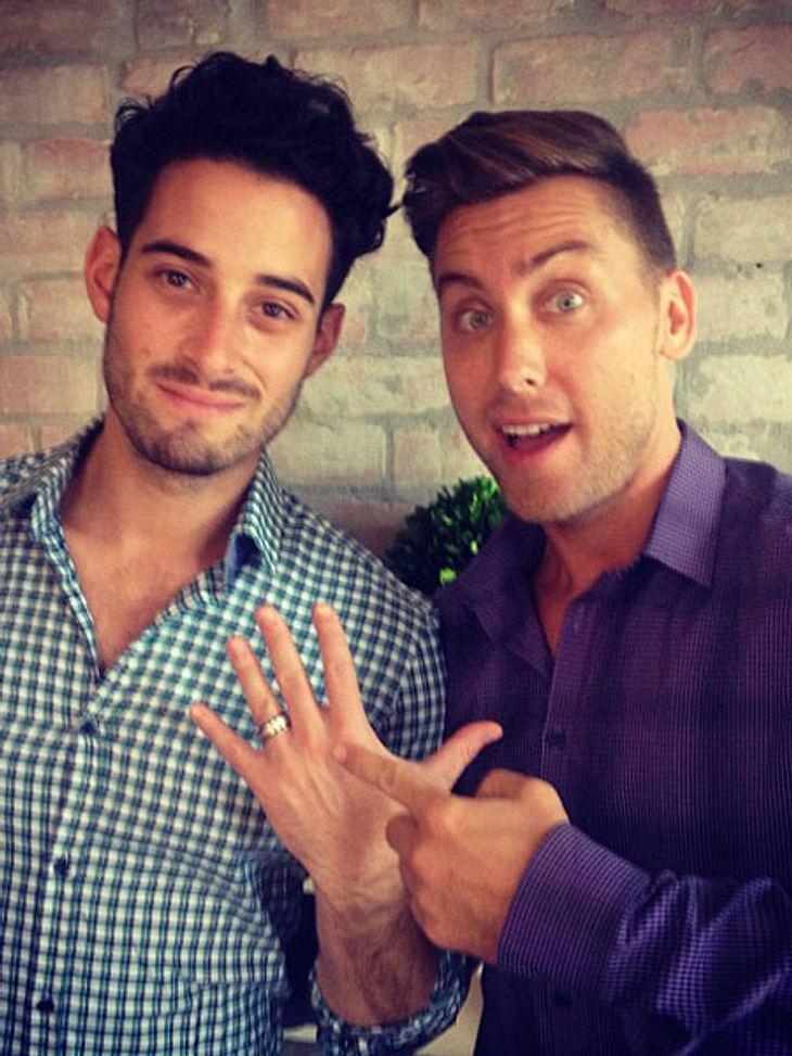 Lance Bass und Michael Turchin haben sich verlobt