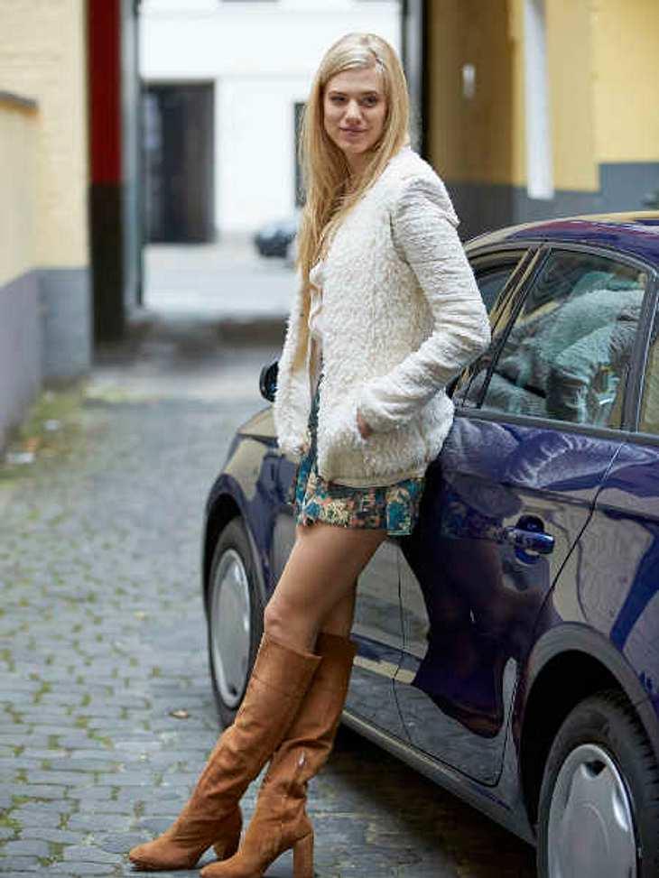 "Larissa Marolt in ""Alarm für Cobra 11""."