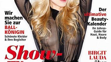 Larissa Marolt oben ohne - Foto: Madonna