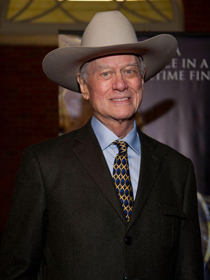 """Die Todesfälle 2012Durch seine Rolle als """"Dallas""""-Schurke J.R. wurde Larry Hagman (†81) zur TV-Legende. Am 23. November erlag der Schauspieler einem Krebsleiden.,"""