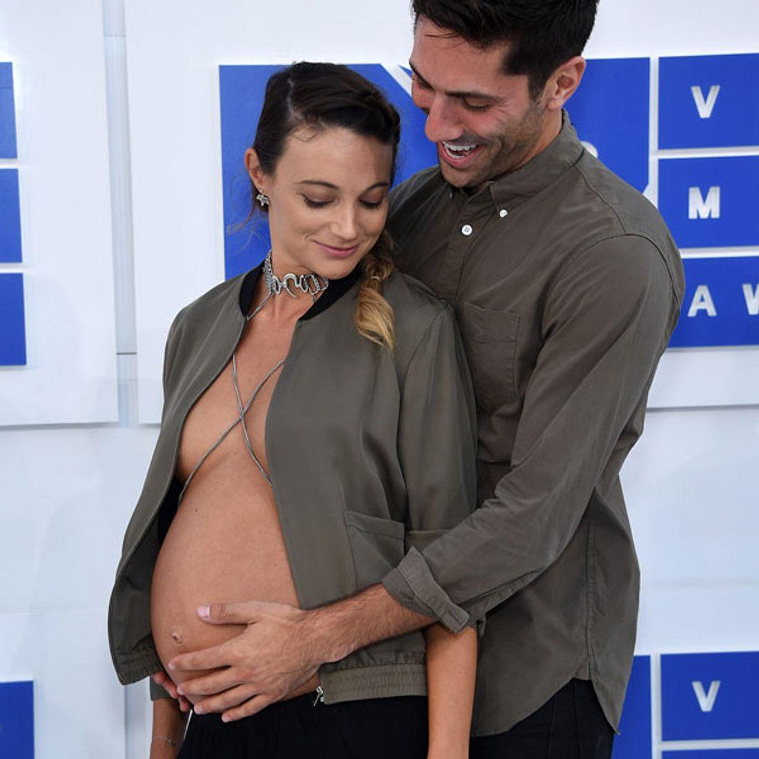 Laura Perlongo Nev Schulman schwanger MTV VMAS