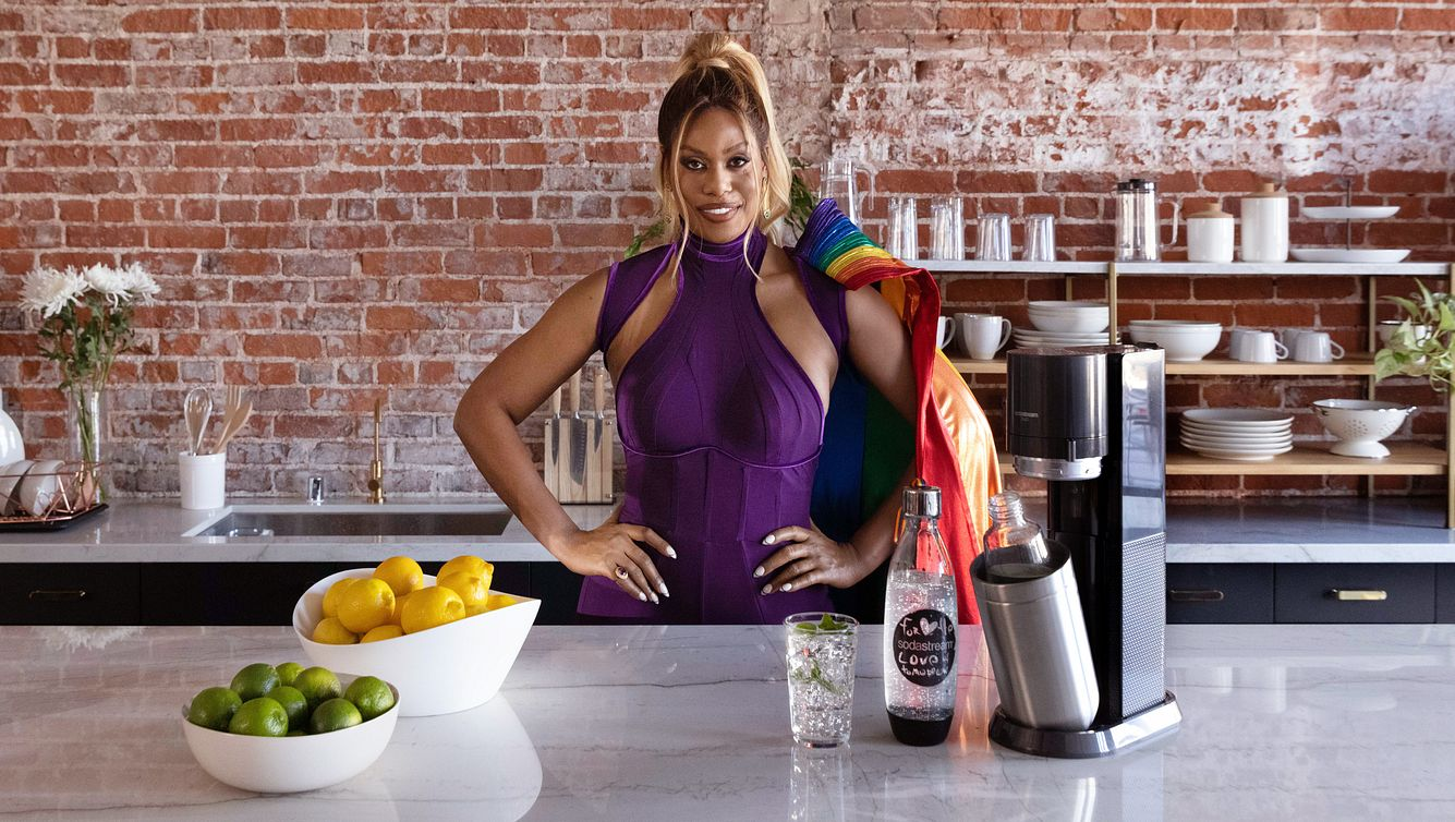 Laverne Cox - SodaStream Pride 2021