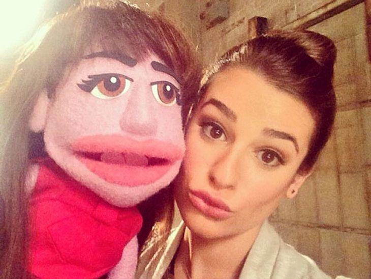 """Es sieht so aus, als würden die """"Muppets"""" bei """"Glee"""" vorbeischauen..."""