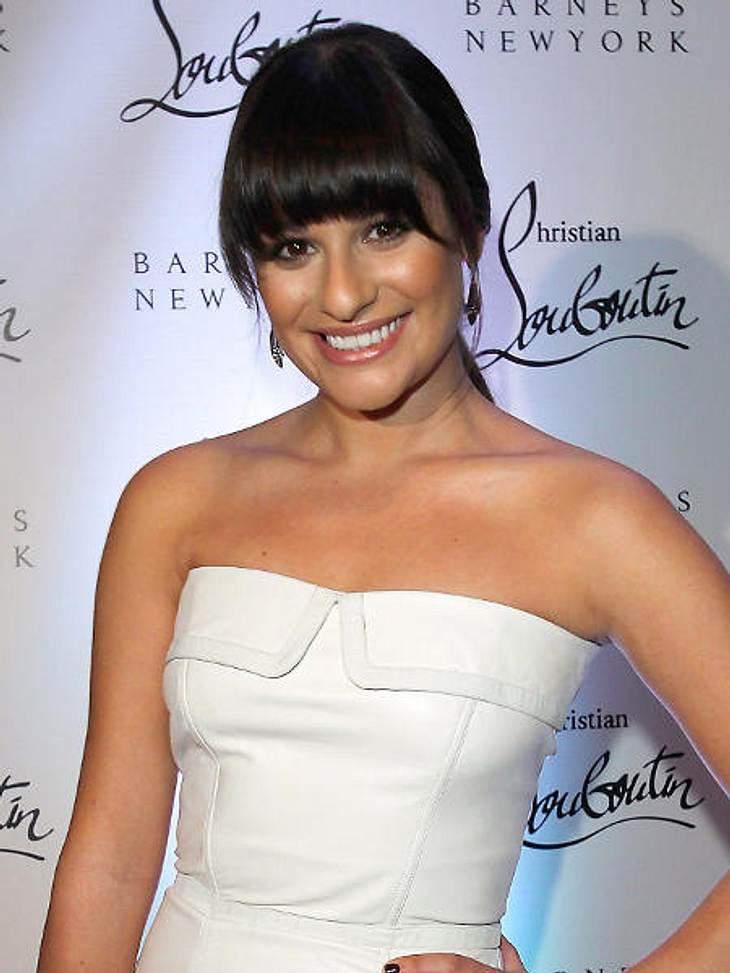 """Star-Style: Pony""""Glee""""-Star Lea Michele (25) spielt in der Erfolgsserie eine 16-jährige. Der Pony verleiht ihr die gewünschte Jugendlichkeit."""